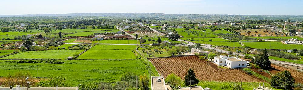 Arrivo nella Valle d'Itria