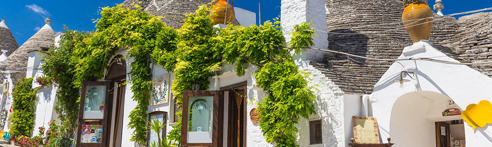 Visita ai Trulli di Alberobello e alla città bianca