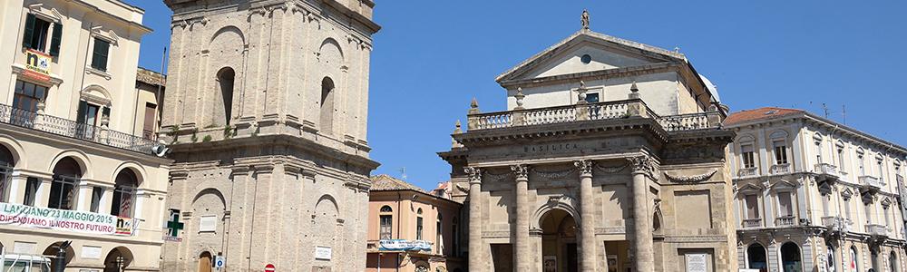 Chiesa di San Francesco (Lanciano) – Santuario della Casa (Loreto)